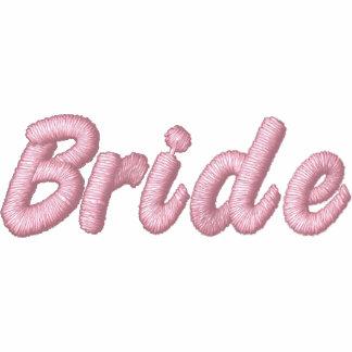 Bride Embroidered Zip Hoodie