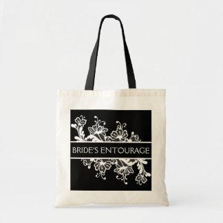Bride Entourage Canvas Bag