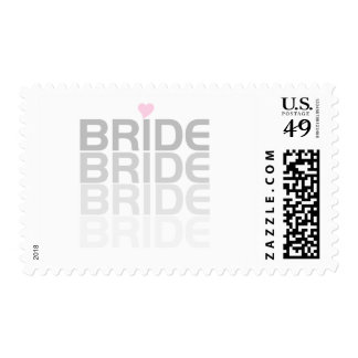 Bride Fade Tshirts and Gifts Postage Stamp