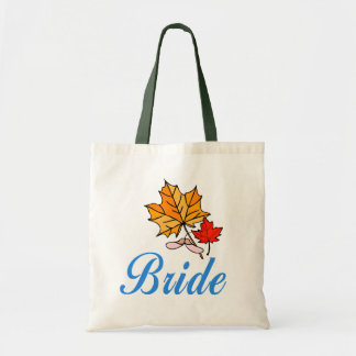 Bride - fall tote bags