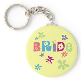 Bride Favors and Gifts keychain