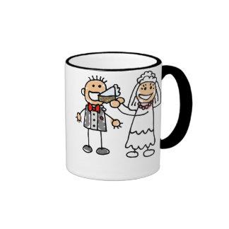 Bride Feeds Groom Coffee Mug