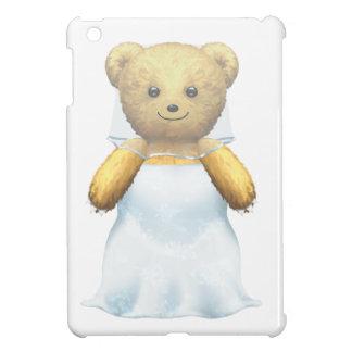 Bride/Fiance Marriage Wedding Teddy Bear Case For The iPad Mini