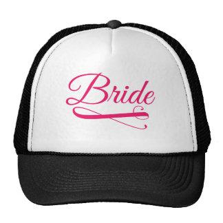 Bride Flourish Hot Pink Trucker Hat