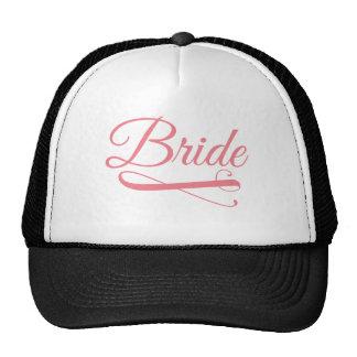 Bride Flourish Pink Trucker Hat