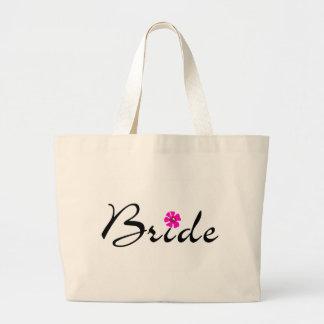 Bride (Flower) Large Tote Bag