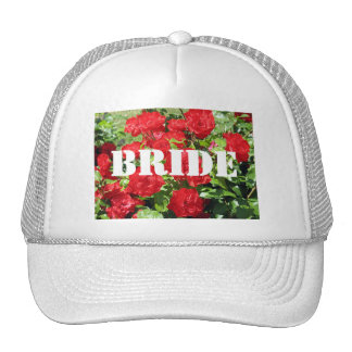 Bride Flowers Hat
