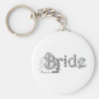 ♥Bride - for Bachlorette Party, Shower, Honeymoon♥ Keychain