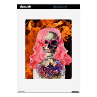Bride from hell decals for iPad