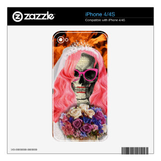 Bride from hell iPhone 4 skins