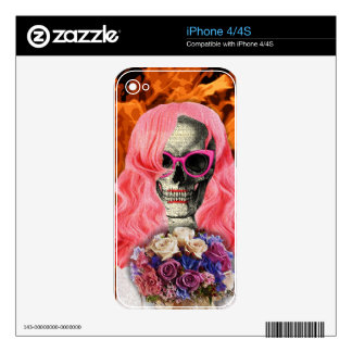 Bride from hell skins for iPhone 4S