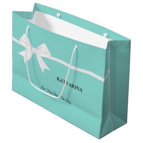 Bride Glam & Bling Bridal Shower Tiara Party Large Gift Bag