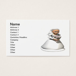 Bride Gray Business Card