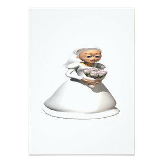 Bride Gray Card