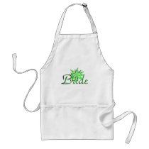 Bride Green Adult Apron