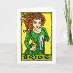 Bride Greeting Card
