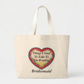 Bride & Groom Canvas Bag