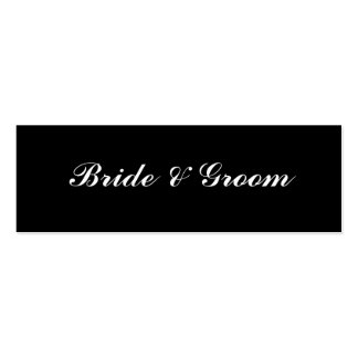 Bride & Groom Business Cards