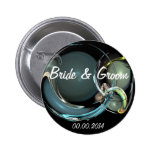 Bride & Groom Buttons