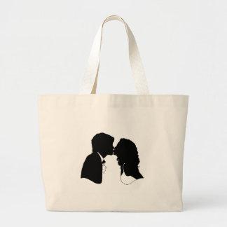 Bride & Groom Canvas Bags