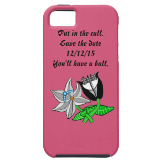 Bride Groom Iphone  Wedding Save The Date iPhone SE/5/5s Case