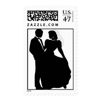 Bride & Groom Postage