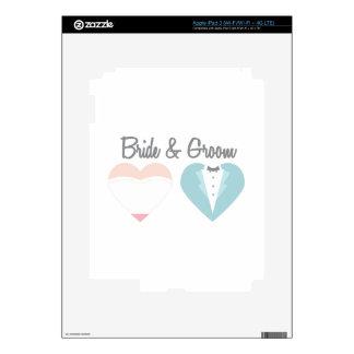 Bride & Groom iPad 3 Skin