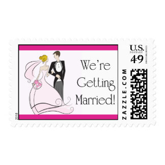 Bride & Groom Stamp