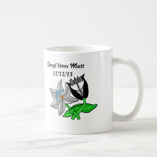 Bride Groom Wedding Paraphernalia Customize Text Coffee Mug