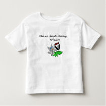 Bride Groom Wedding Paraphernalia Toddler T-shirt