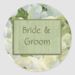 Bride & Groom Wedding stickers