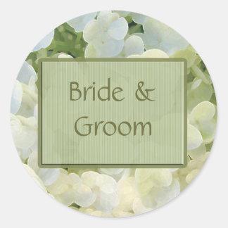 Bride & Groom Wedding stickers