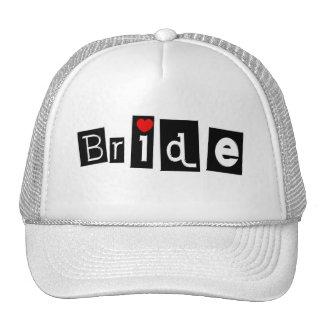 Bride Mesh Hats