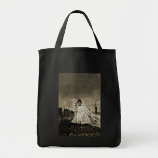 Bride Hatch Day Grocery Tote Bag