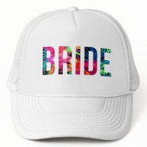 BRIDE Hawaiian Tropical Trucker Hat