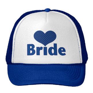 Bride (heart blue I) Trucker Hat