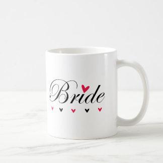 Bride Hearts Coffee Mug