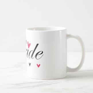 Bride Hearts Classic White Coffee Mug
