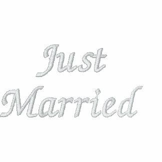 Bride Hoodie Just Married