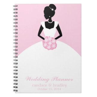 Bride Illustration Notebook (pink)