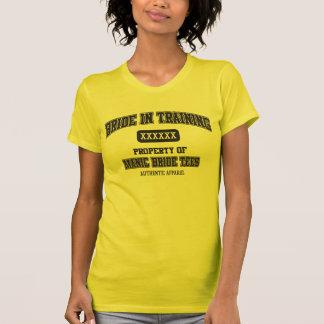 Bride In Training Ladies' T-shirt (Yellow)