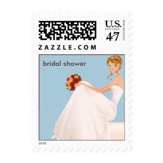 Bride-in-Waiting Bridal Wedding Shower Postage