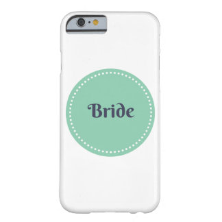 Bride iphone 6 barely there case