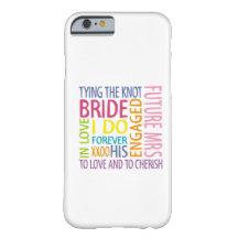 Bride iPhone 6 Case