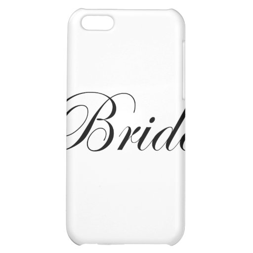 Bride iPhone 5C Covers