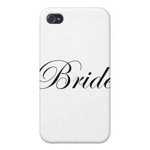 Bride Cover For iPhone 4