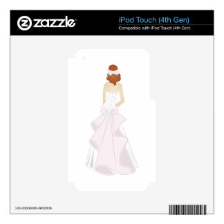 Bride iPod Touch 4G Decal