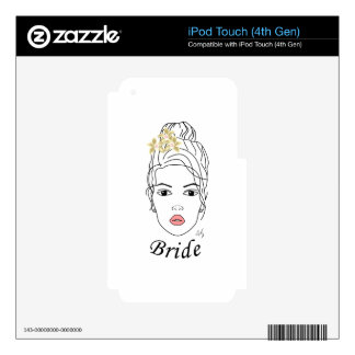 BRIDE iPod TOUCH 4G DECALS