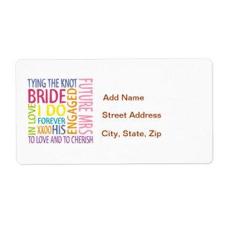 Bride Label