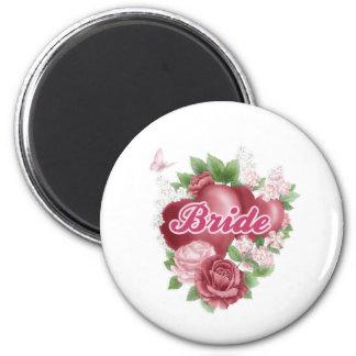 Bride Refrigerator Magnets